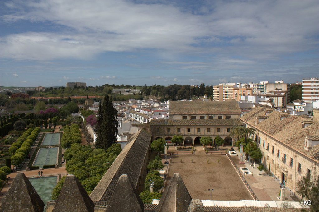 View of Garden from the Tower of Alcazar